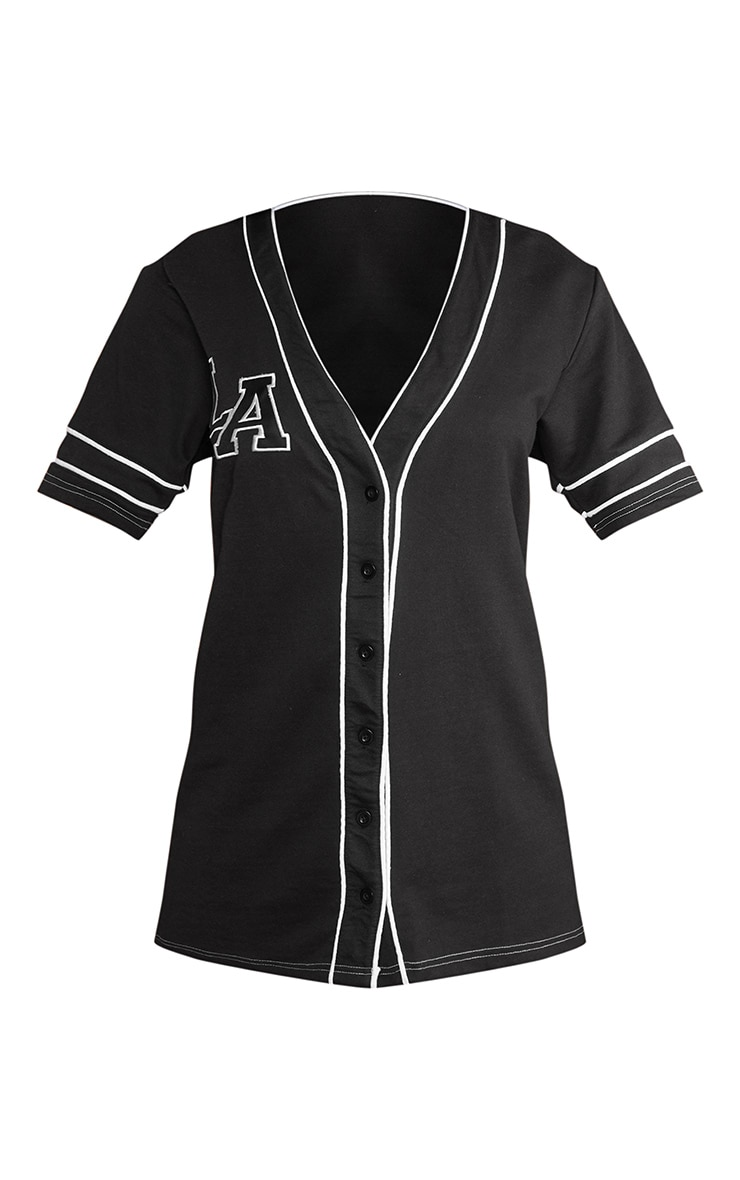 Black LA Jersey Dress 5