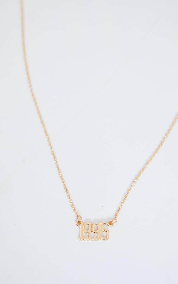 1996 Gothic Font Necklace 4