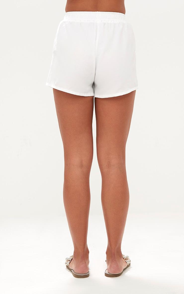 White Beach Shorts  4
