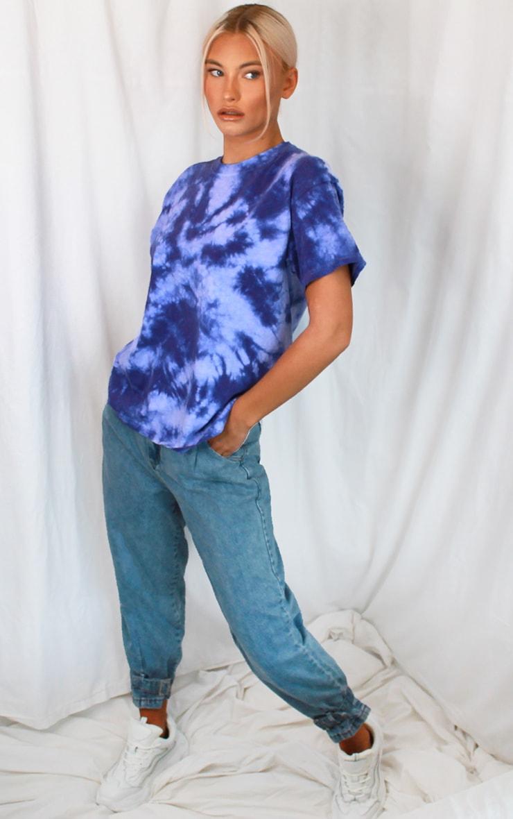 Purple Tie Dye T Shirt 3