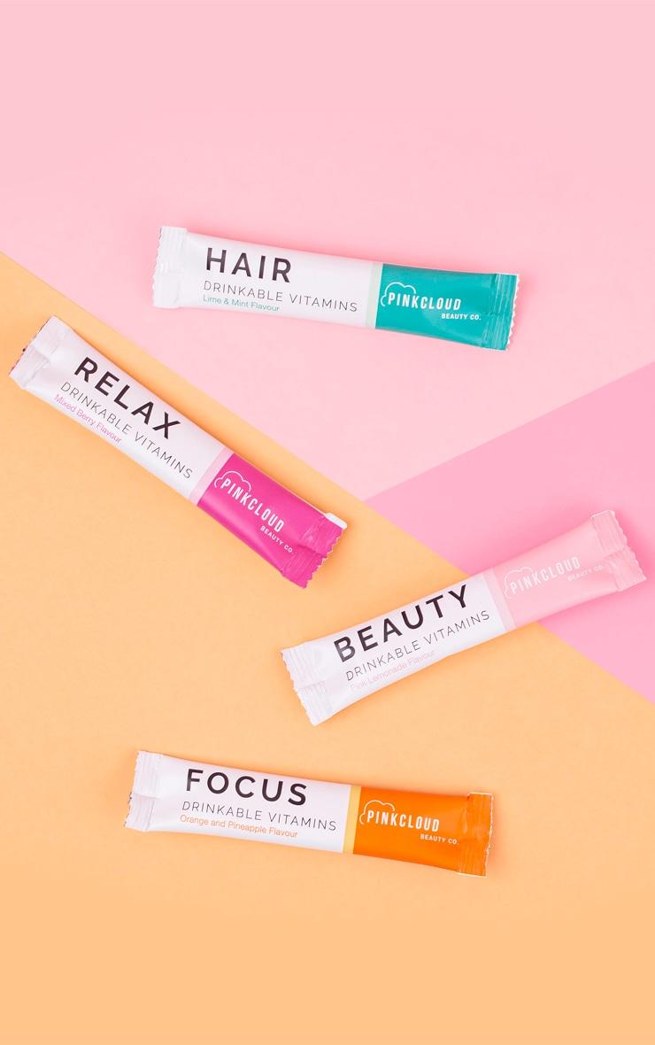 Pink Cloud Focus Drinkable Vitamins 7 Pack 4