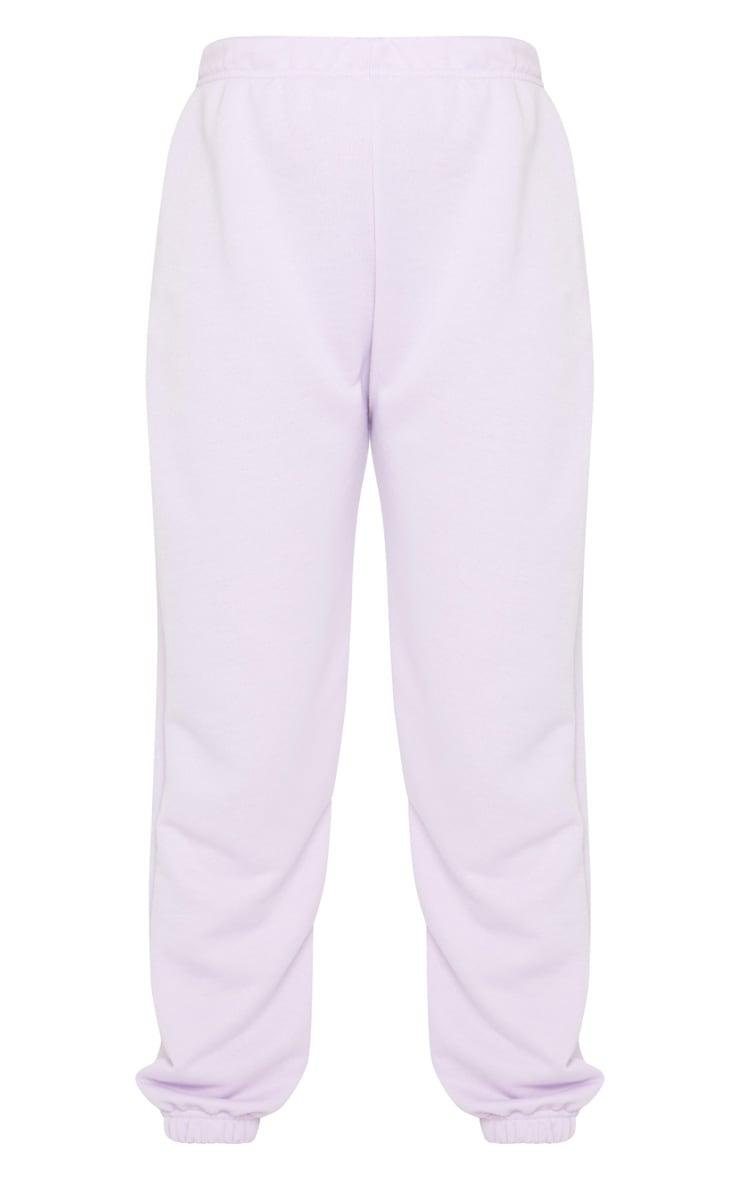 Petite Lilac Basic Cuffed Joggers 5