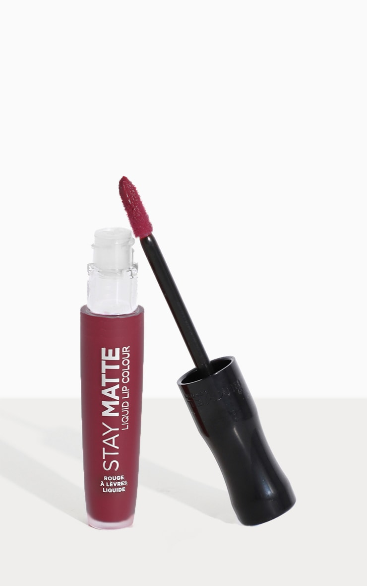 Rimmel Stay Matte Liquid Lip Plum This Show 1