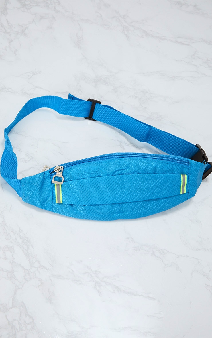 Turquoise Basic Bum Bag 3