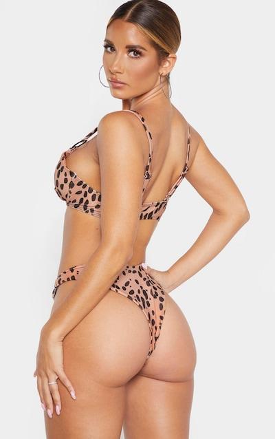 Nude Spot Underwired Ring Detail Bikini Top