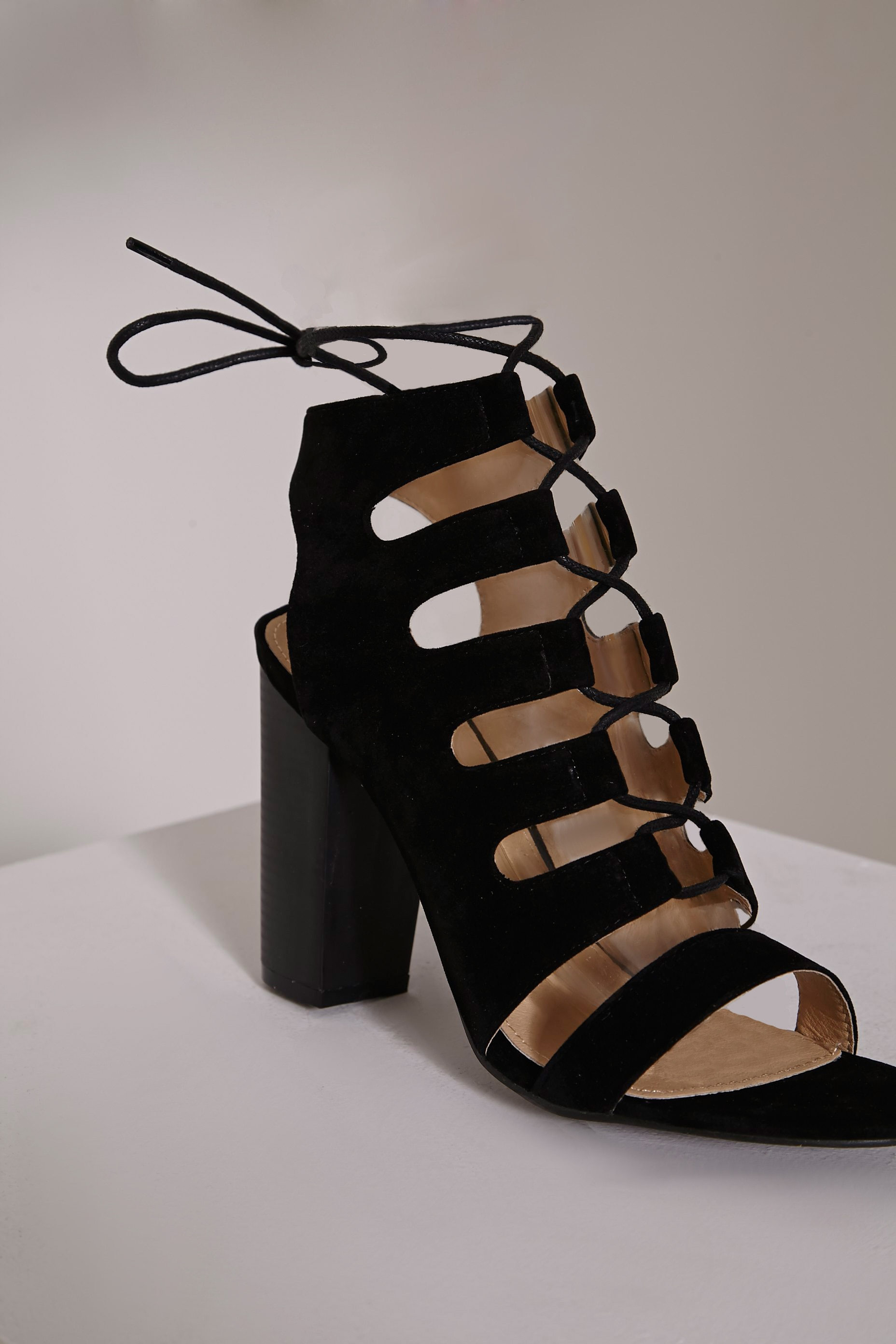 Emerson Black Cut Out Sandals 6