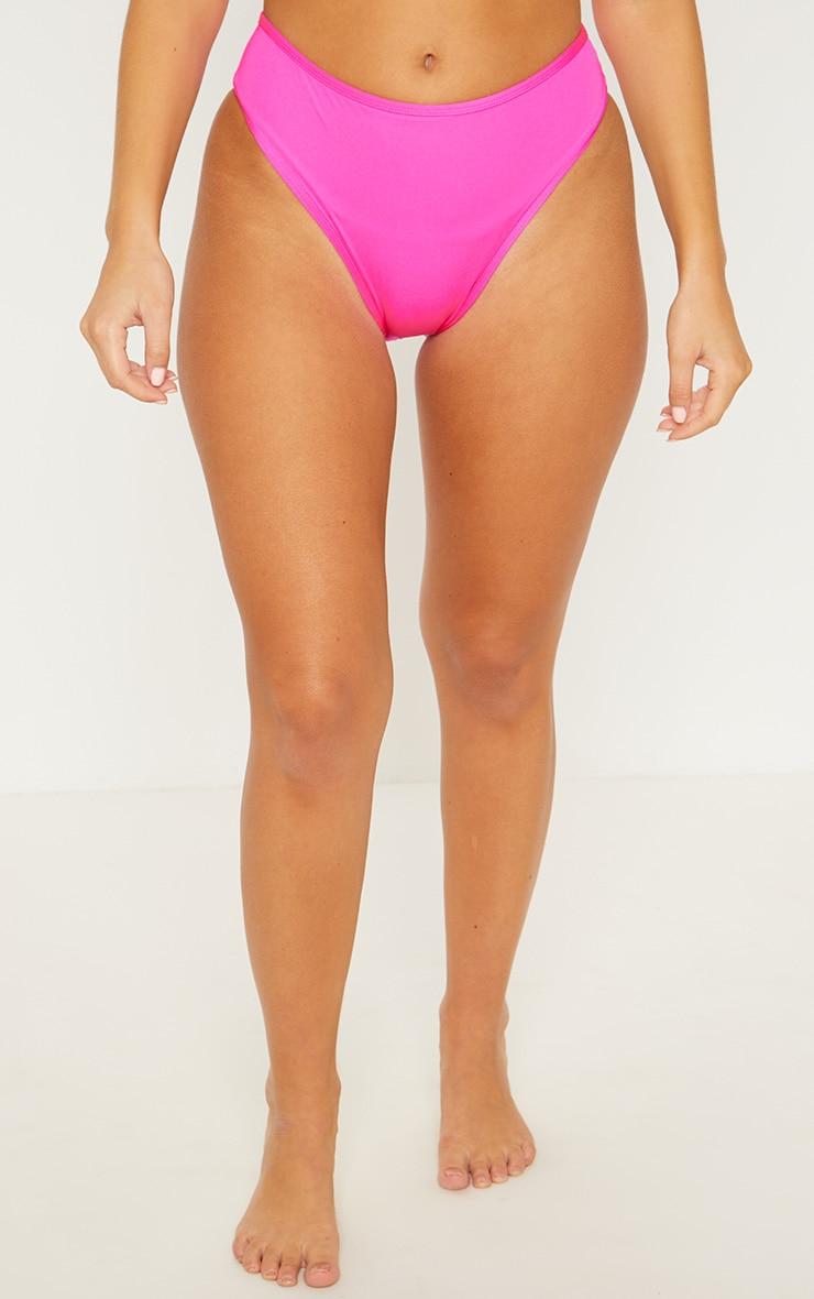 Pink Mix & Match Cheeky Bum Bikini Bottom 2