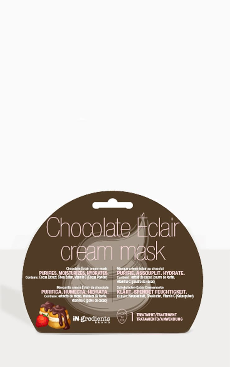 iN.gredients Chocolate Eclaire Cream Mask 3