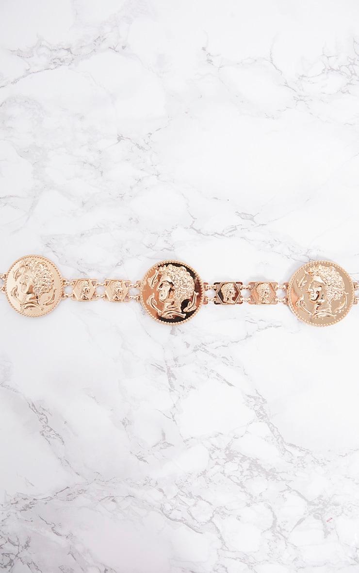 Gold Coin Chain Belt 3