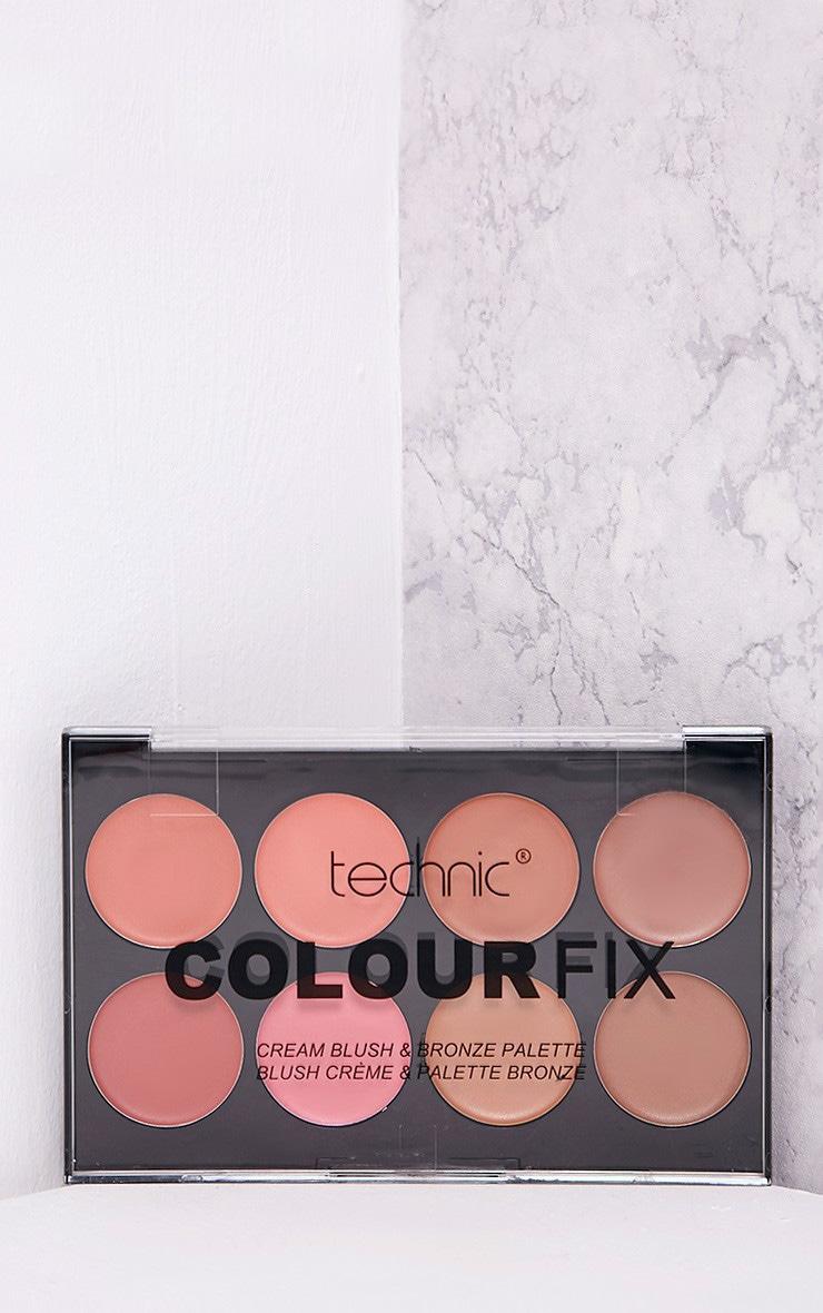Technic Colour Fix Cream Blush & Bronze Palette 2
