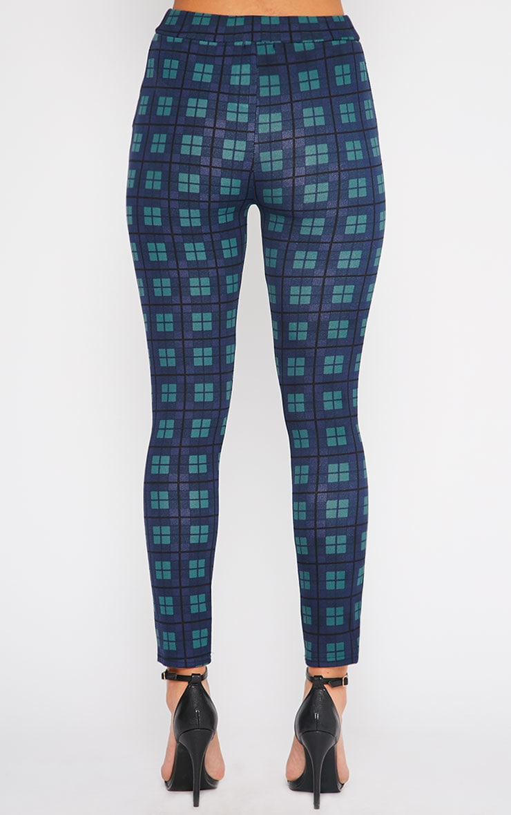 Jehanne Green Checked Trouser  2