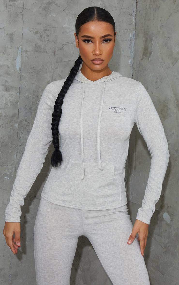 Grey Soft Yoga Hoody 3