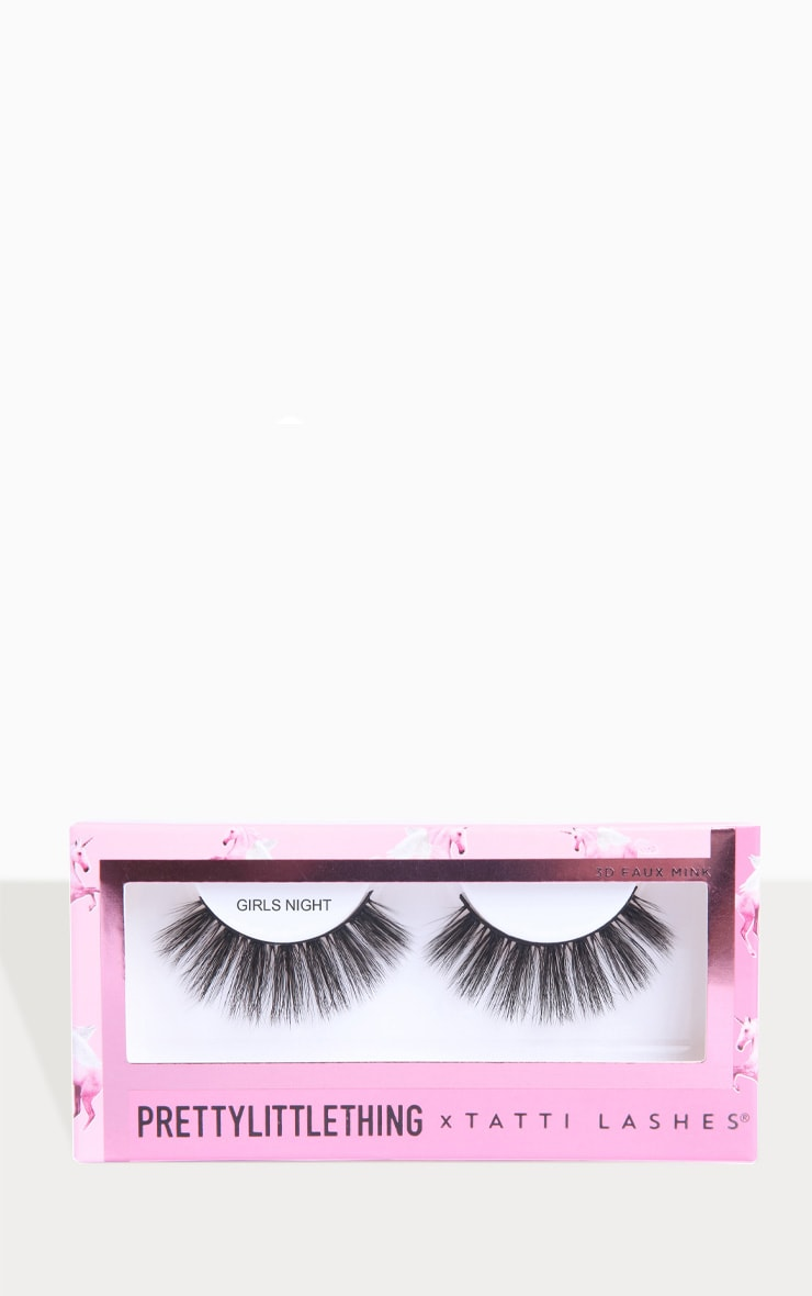PRETTYLITTLETHING X Tatti Lashes Girls Night 4