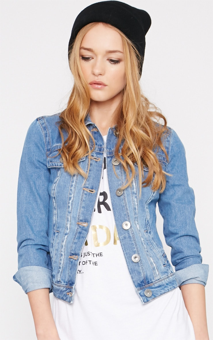 Alex Blue Denim Jacket  1
