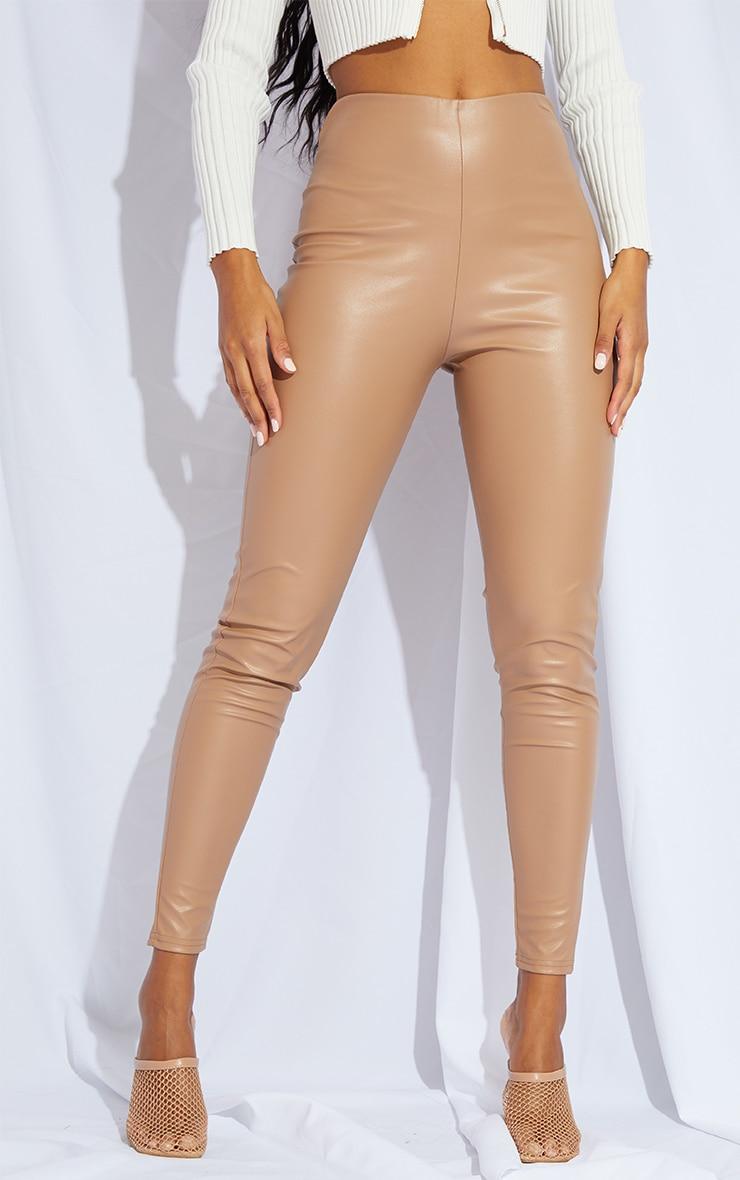 Stone Faux Leather Legging 2
