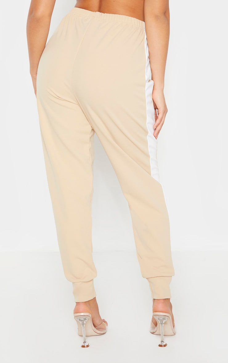 Petite Stone Side Stripe Detail Track Pants 4