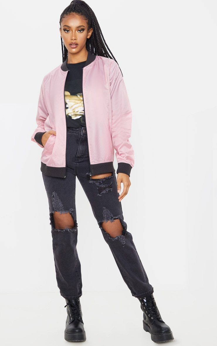 Rose Lightweight Bomber Jacket 1