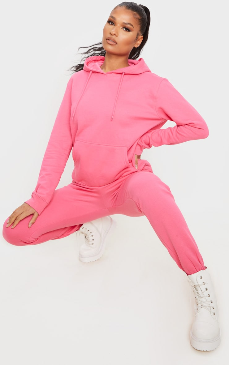 Candy Pink Ultimate Oversized Hoodie 3