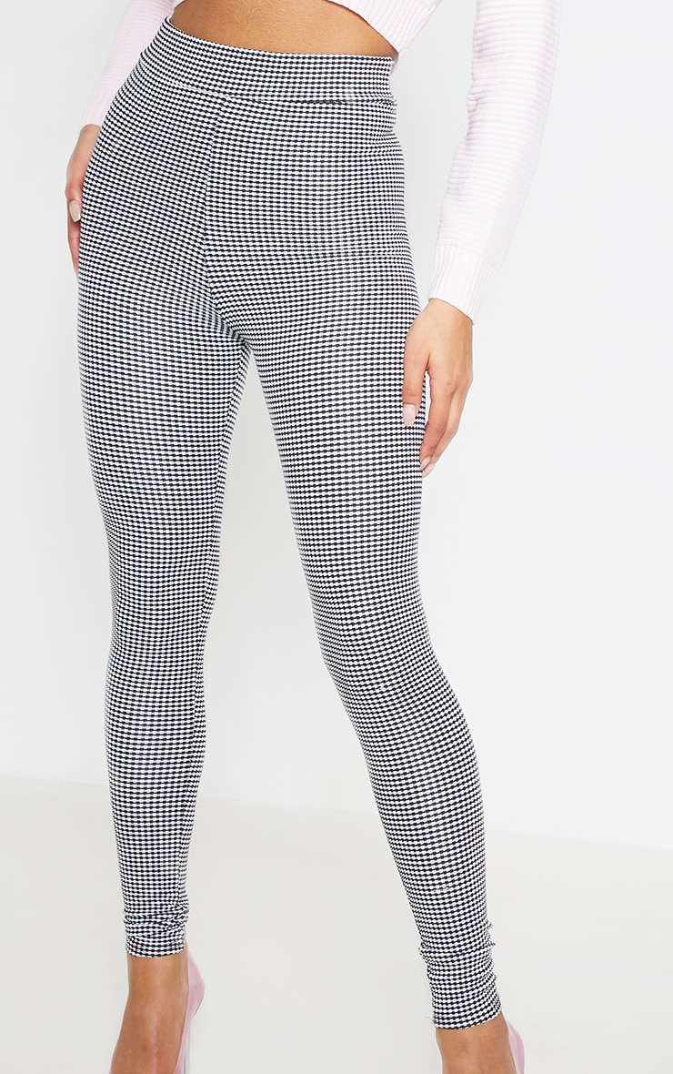 Houndstooth High Waisted Legging 6