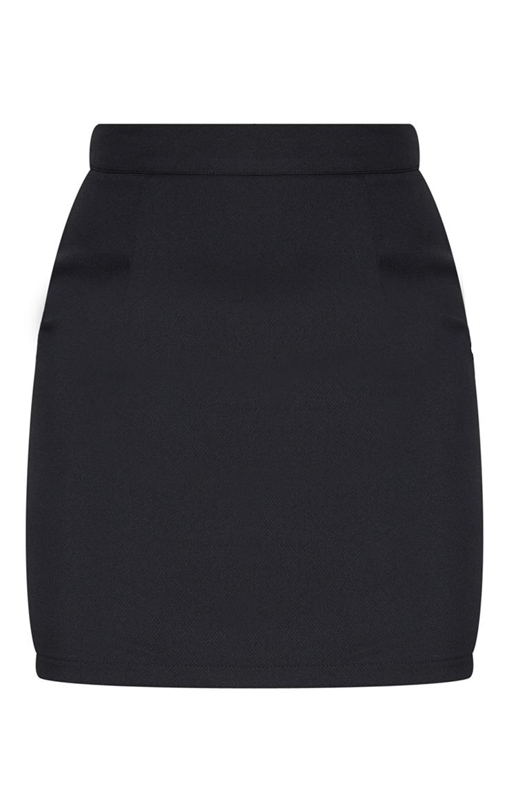 Petite Black Bodycon Mini Skirt 6