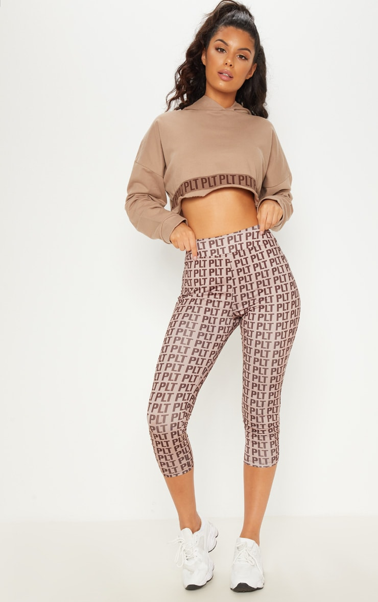 PLT Stone Band Cropped Hoodie 5