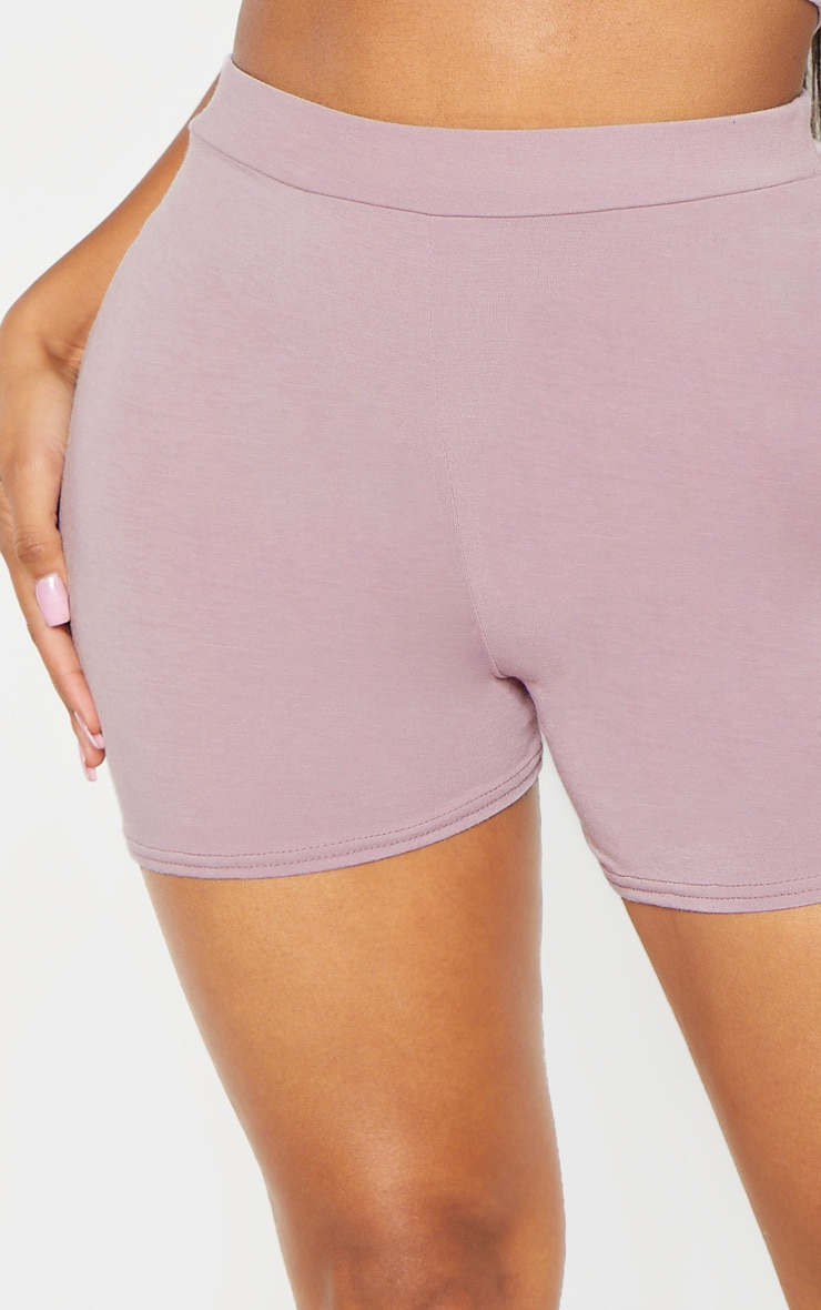 Shape Violet High Waisted Jersey Shorts 6