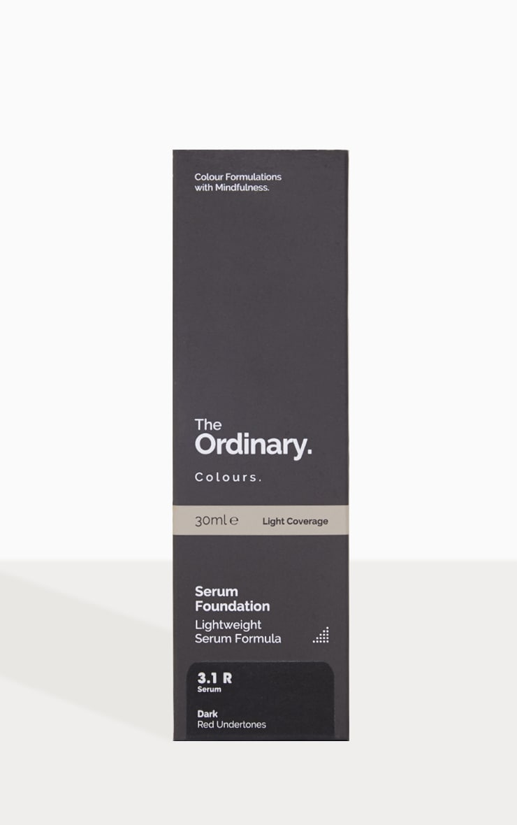The Ordinary Serum Foundation 3.1R Dark 2