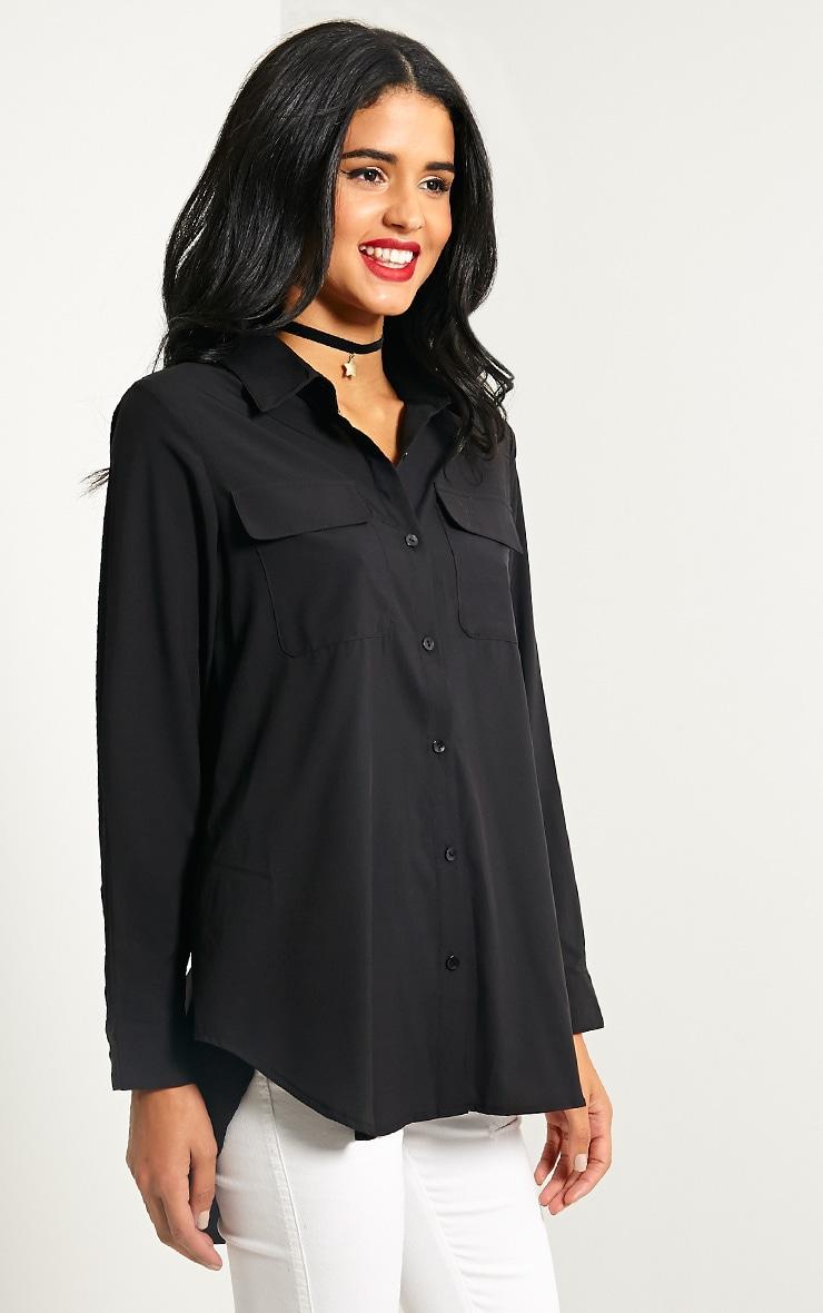 Dune Black Pocket Detail Shirt 4