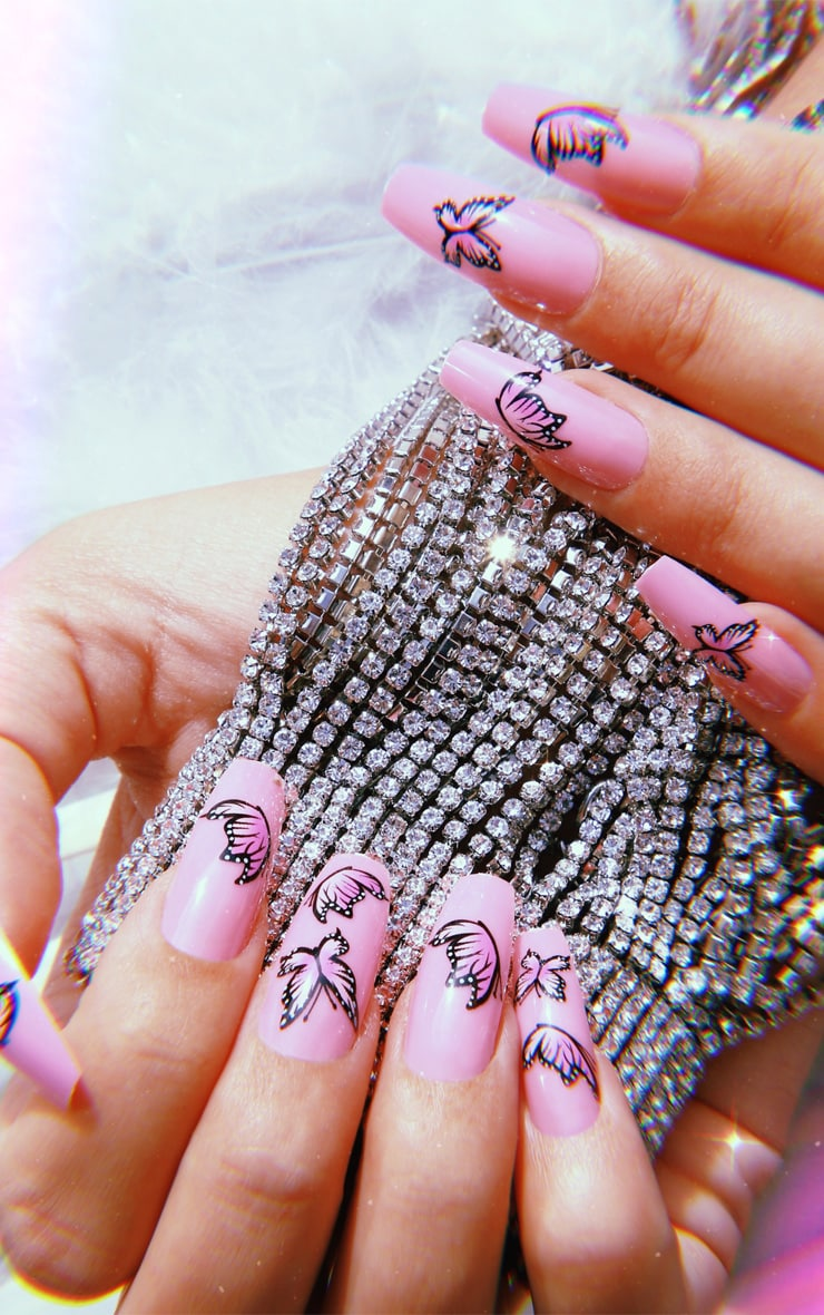 SHRINE X Alice Mc Butterflies Stick On Nails 1