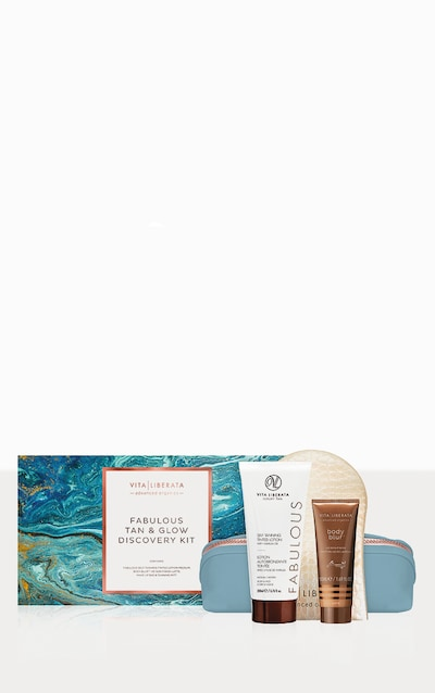 Vita Liberata Fabulous Tan & Glow Discovery Kit Dark Lotion