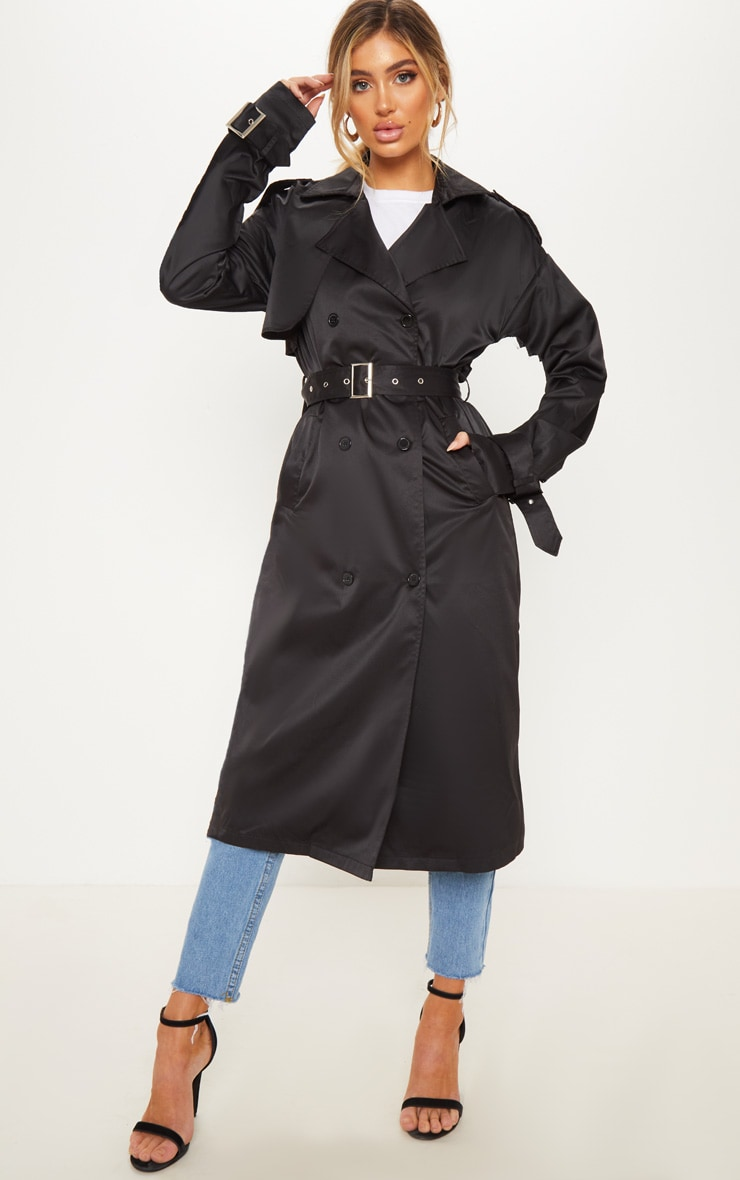 Black Trench Coat  1