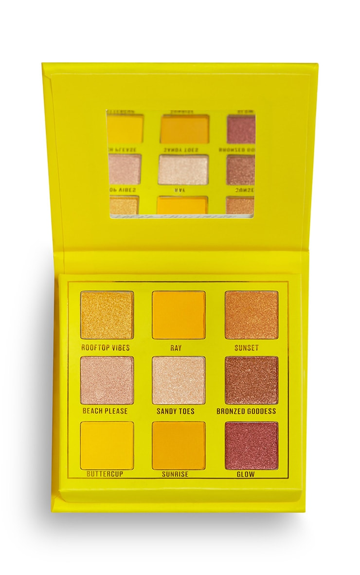 Makeup Obsession Sunshine Makes Me Happy Shadow Palette 2
