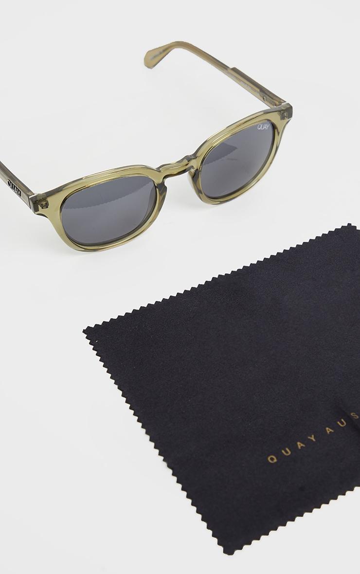 QUAY AUSTRALIA Olive Walk On Sunglasses 3
