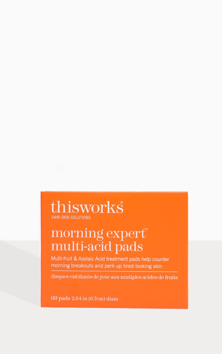 This Works Morning Expert Multi-Acid Daily Exfoliating Pads 60Pcs 4