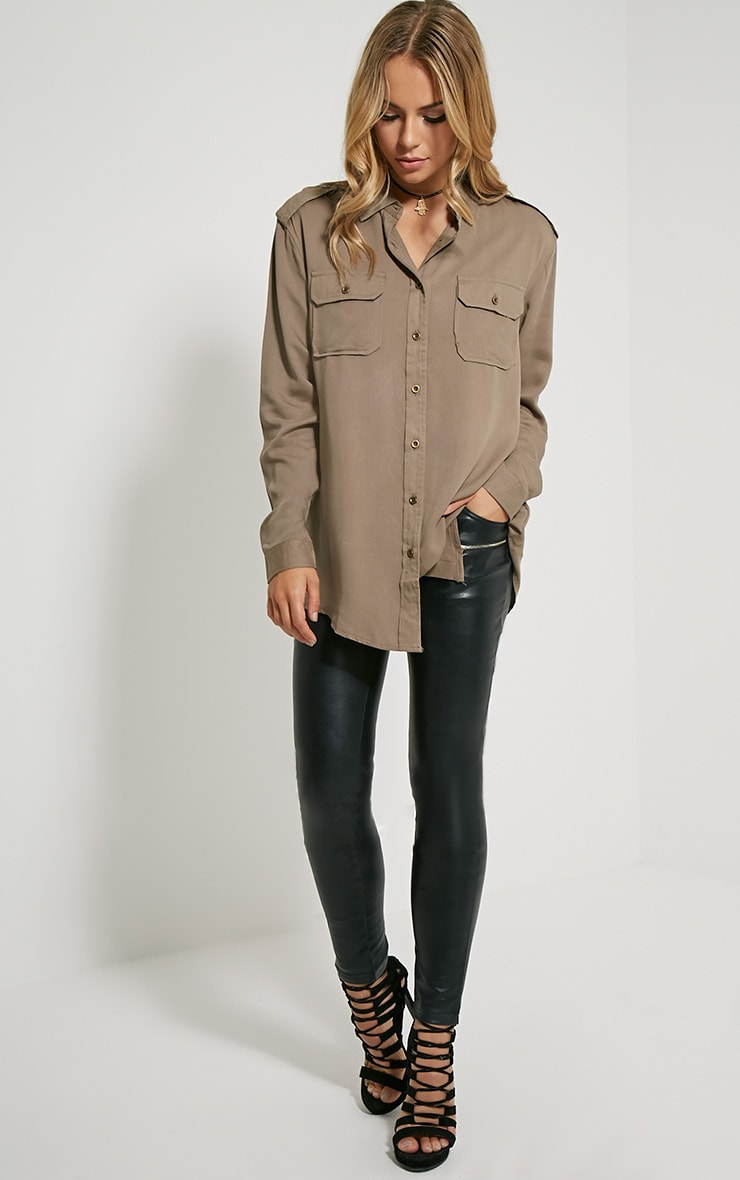 Marni Khaki Military Shirt 3