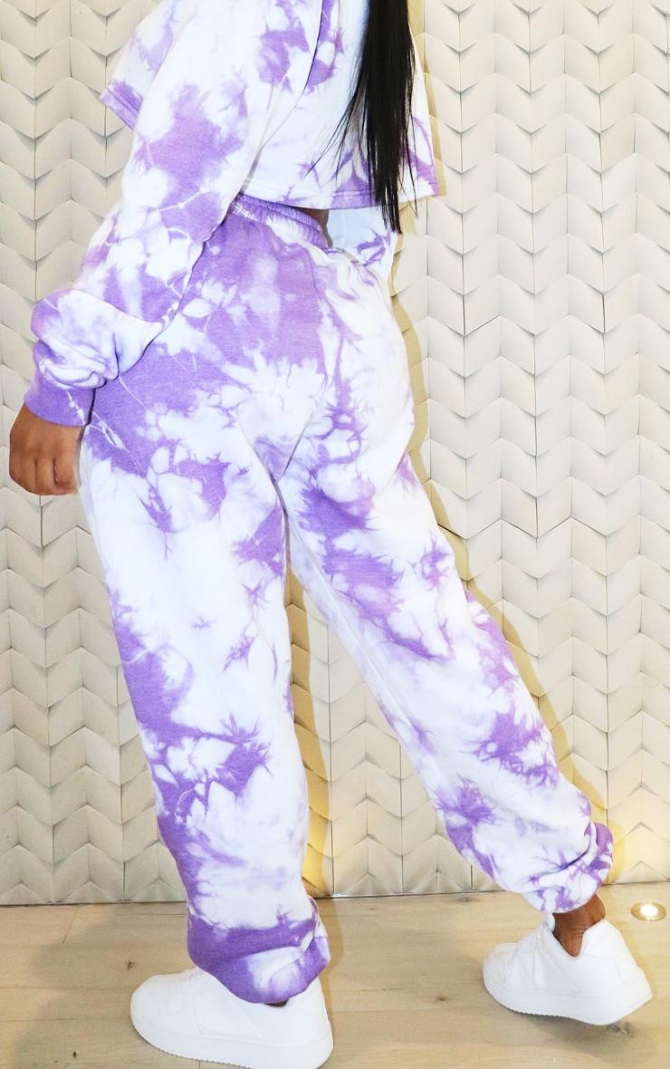 Shape - Jogging taille haute tie & dye violet 3