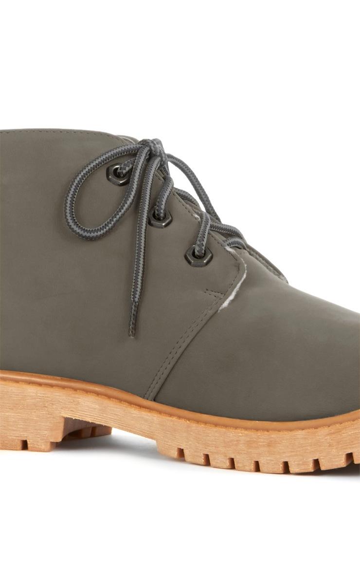 Iyanna Grey Desert Boot 3