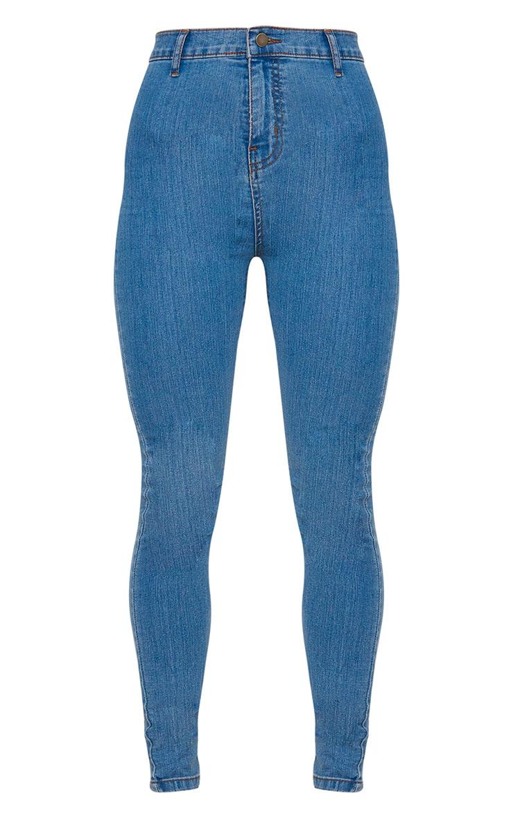 Light Wash Disco Fit Skinny Jean 3