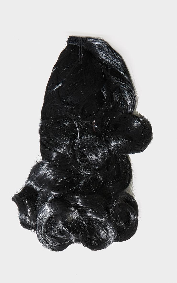 Lullabellz Mini Grande 18 90s Curl Wraparound Pony Natural Black 5