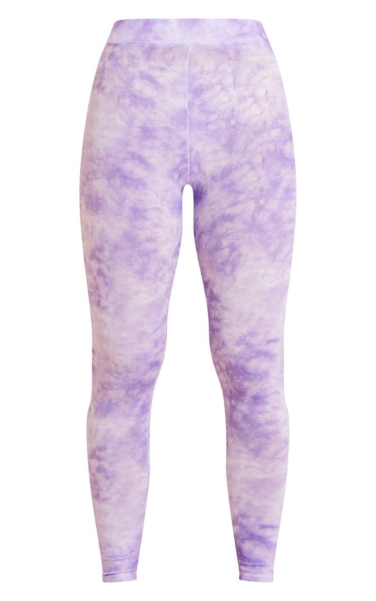 Purple Tie Dye Leggings 5