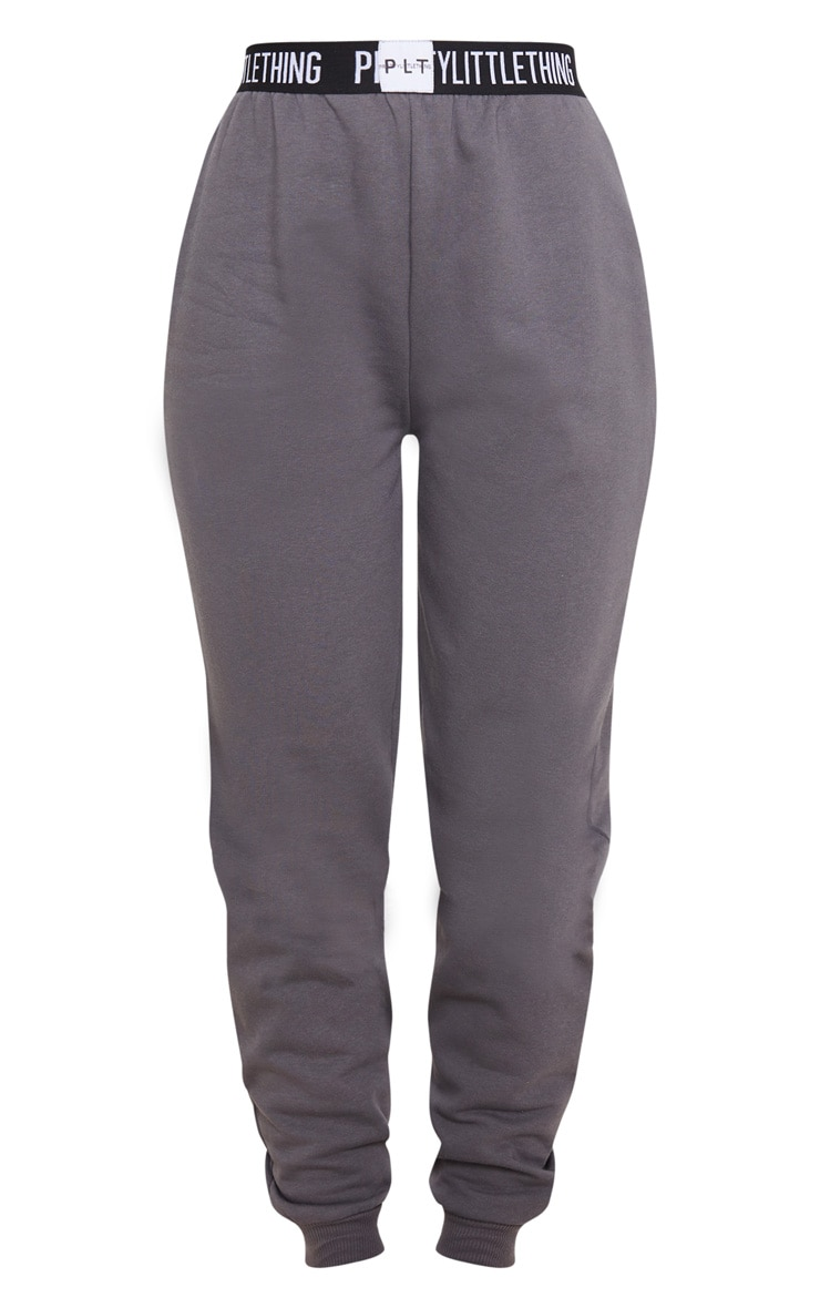 PRETTYLITTLETHING Charcoal Grey Lounge Jogger 3