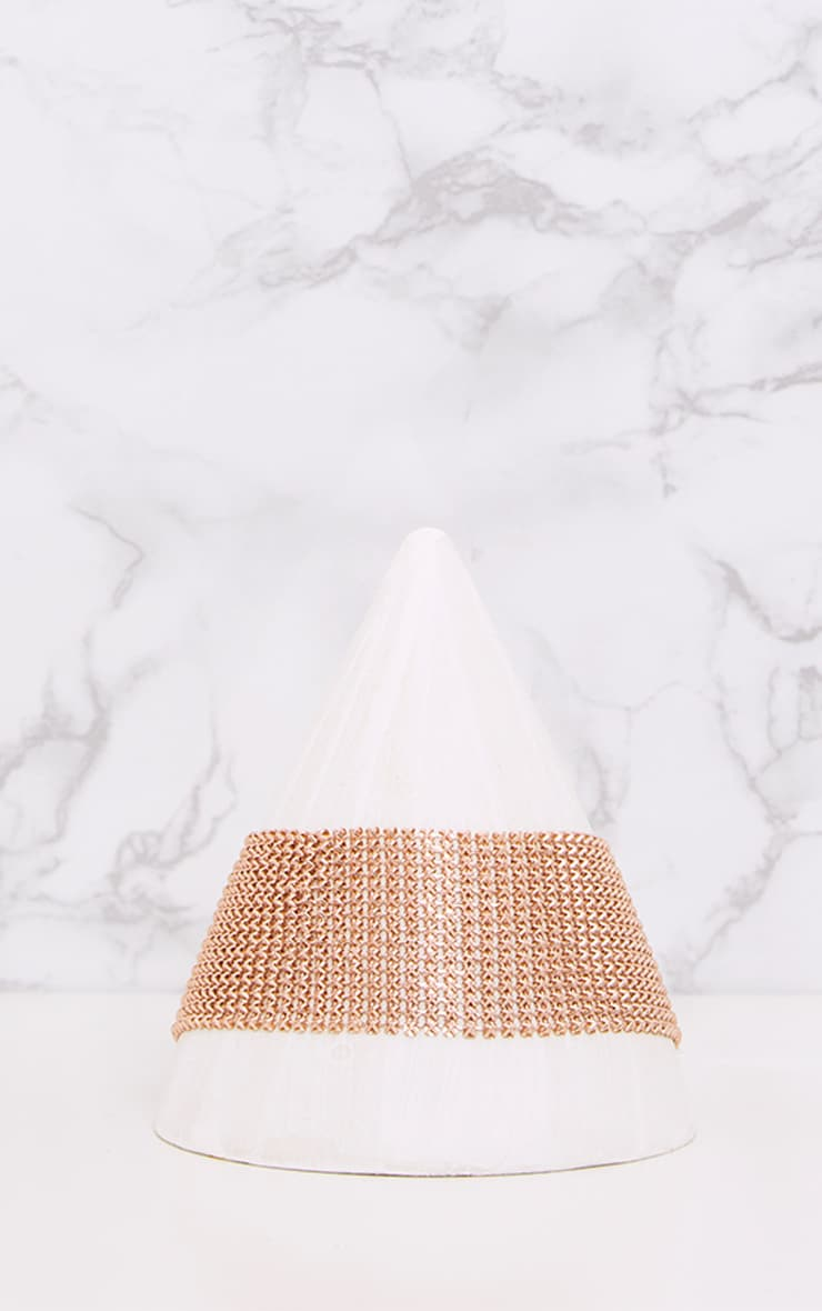 Judey Rose Gold Chainmail Choker 2