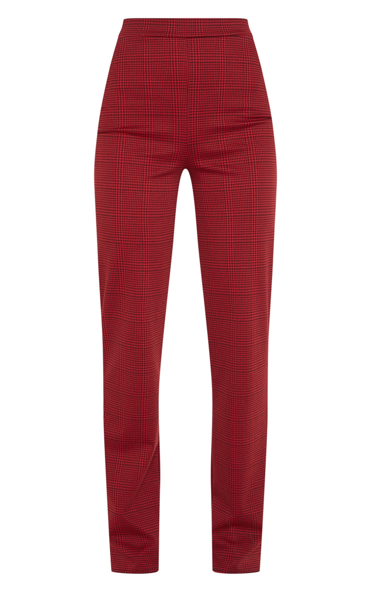Red Checked Trouser 3