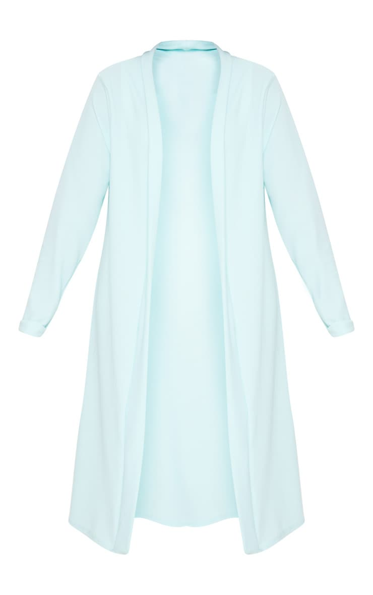 Plus Mint Crepe Maxi Duster Jacket 3