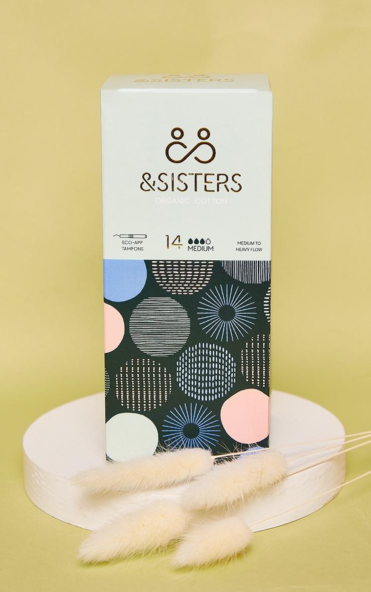 &Sisters - Boîte de 14 tampons Eco-Applicateur pour flux moyens 1