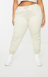 Plus Stone Washed Piping Joggers 2