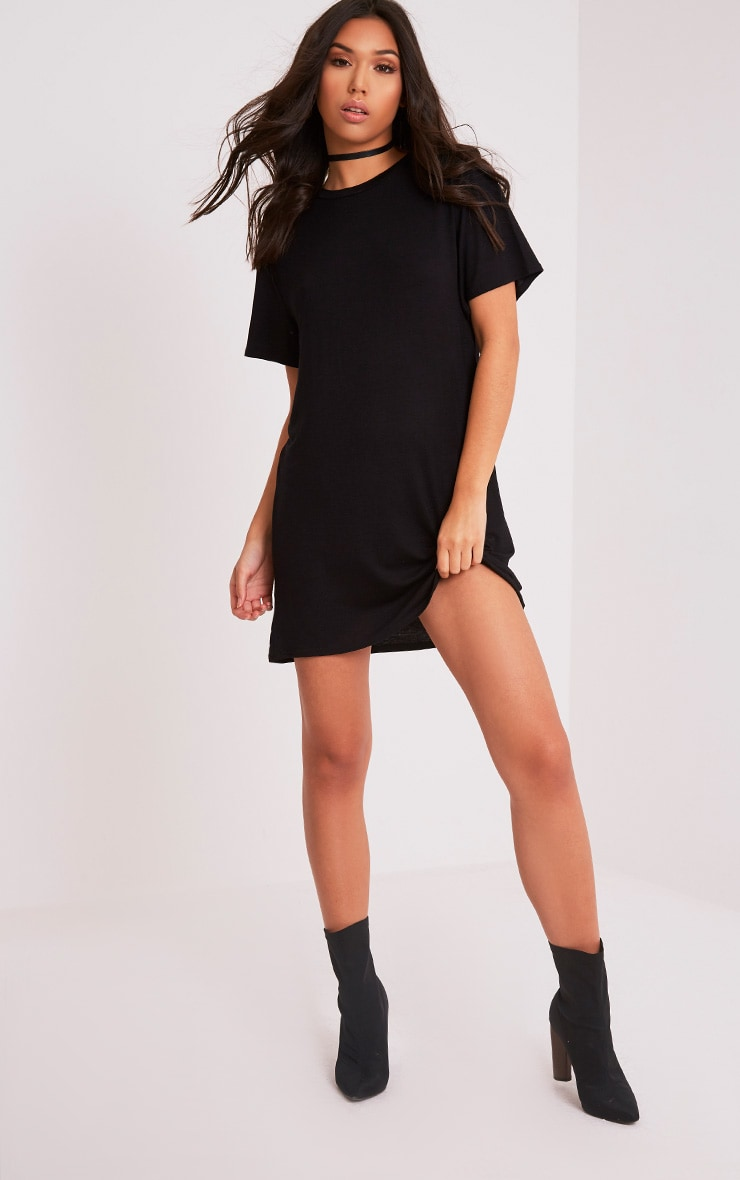 California Gothic Print T-Shirt Dress 5
