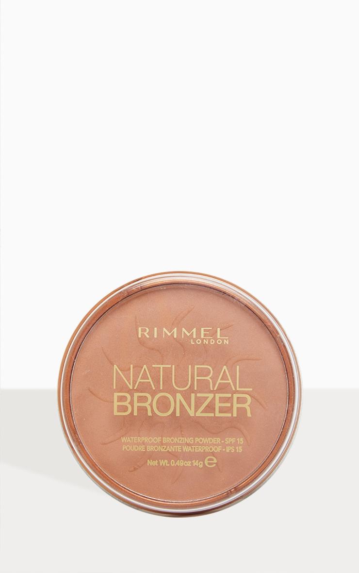 Rimmel - Poudre bronzante Natural Bronzer 1