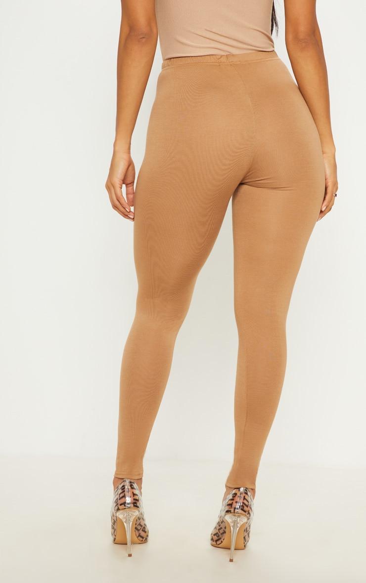 Basic Camel Jersey Legging  4