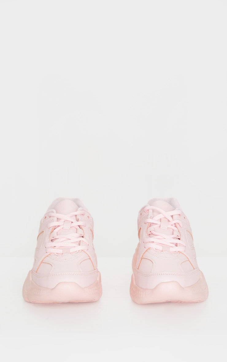 Blush Arch Sole Chunky Trainers 4